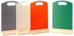 a4 coloured hand held menu boards opt