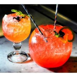 chalice dessert glass lifestyle