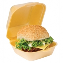 hp6 polystyrene burger box