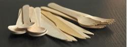 wooden cutlery banner