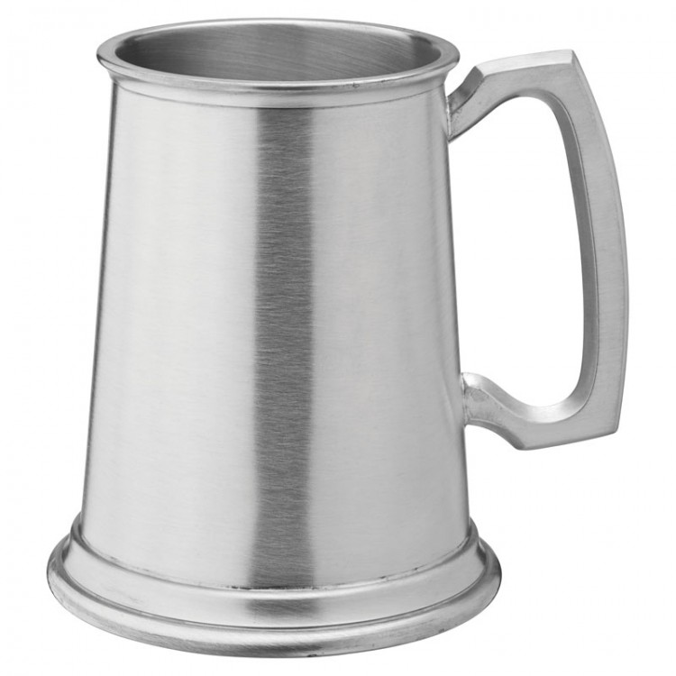 F92002 albandy brushed pewter tankard