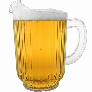 reusable plastic jugs and pitchers wholesale plastic beer jugs