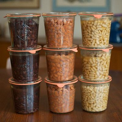 weck stacked jars