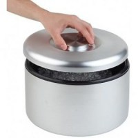 Solid Aluminium Ice Bucket with Black Polypropylene Inner