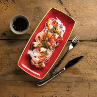 Churchill Stonecast Berry Red Crockery