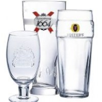 Branded Beer Glasses