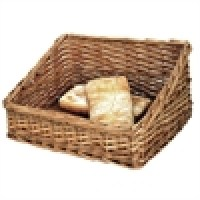 Wicker Bread Display Basket