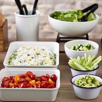 Melamine Buffet Bowls and Platters