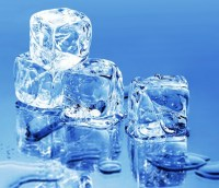 Ice Cubes made by Ice Machine