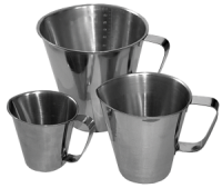 Stainless Steel Graduated Jugs & Buckets