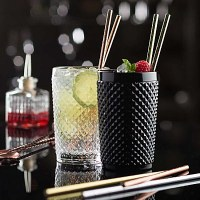 Paper Drinking Straws with Drinks