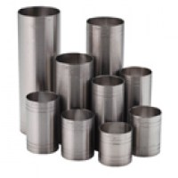 A full range of stainless steel thimble measures