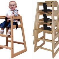 Child Stacking Highchair for Restaurant