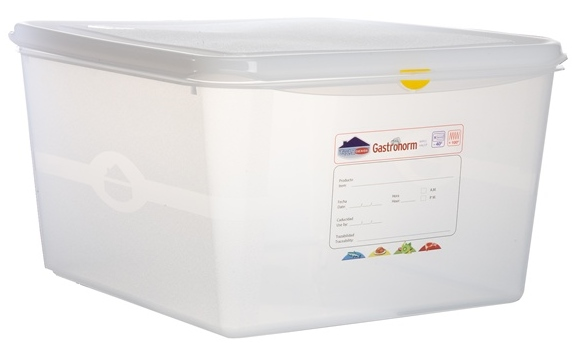 2-3 GN Food Storage Container 200mm Deep
