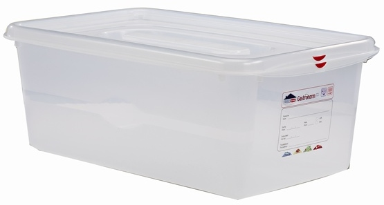1-1 Gastronorm Food Storage Container + Lid 200mm Deep