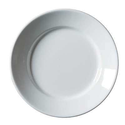 Porcelain Deep Winged Plate