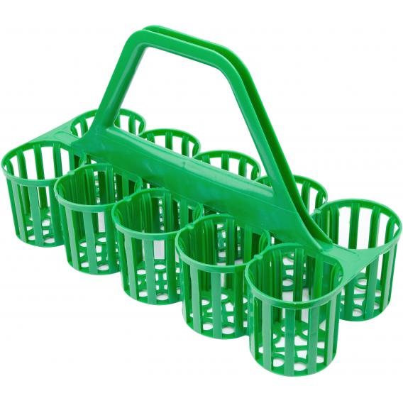 Plastic Glass Collection Carrier