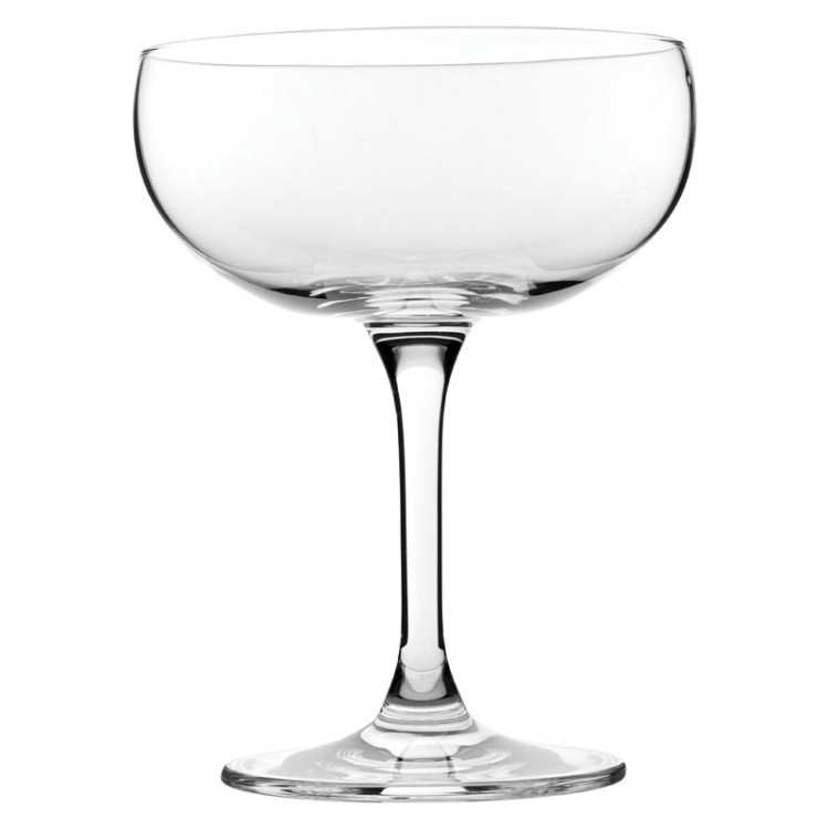 Mondo large champagne saucer glass 12oz 36cl wholesale Large wine glasses cheap