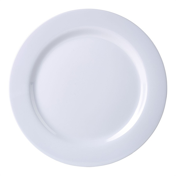 Melamine Plate White  sc 1 st  MK Catering u0026 Bar Supplies : melamine plates uk - pezcame.com