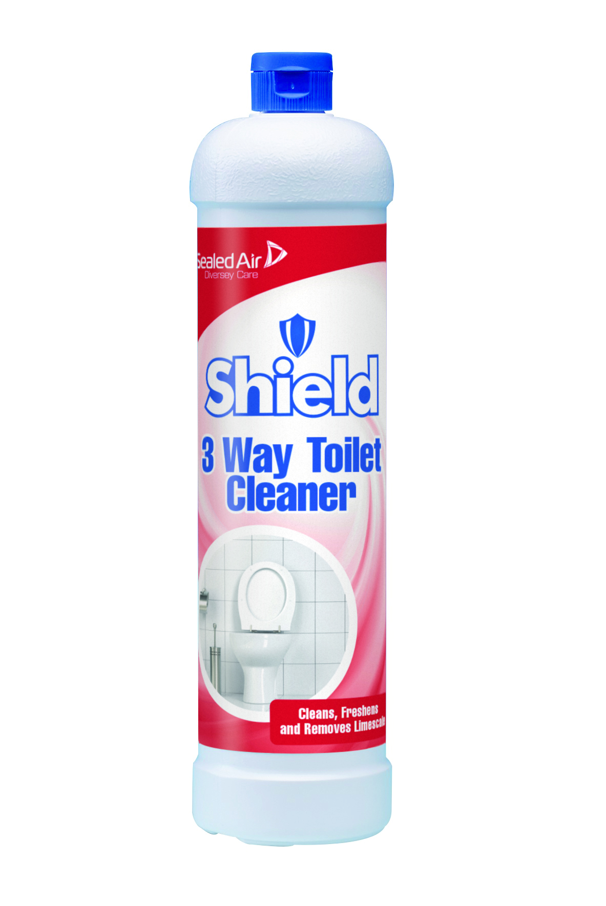 1 Litre Shield 3 Way Toilet Cleaner Lifeguard Toilet