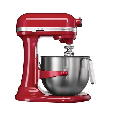 Red Kitchen Aid Heavy Duty Food Mixer