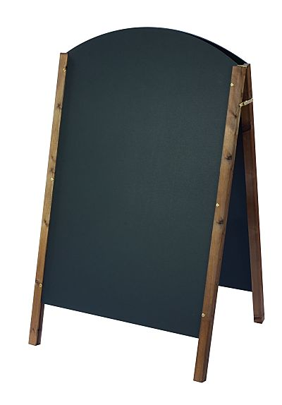 Curved Top Chalk A-Board 1400 x 765mm