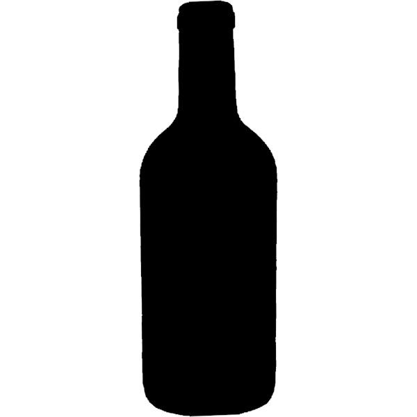 Wine Bottle Outline Clipart Wine Bottle Silhouette Clipart