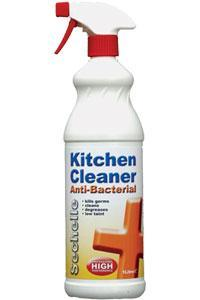 1 Litre Kitchen Degreaser & Anti-Bacterial Spray | Kitchen cleaner ...
