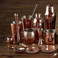 70cl - 24.5oz Copper Parisian Cocktail Shaker