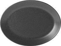 Graphite Porcelite Seasons Oval Plate