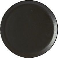 Graphite Porcelite Seasons Pizza Plate