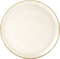Oatmeal Porcelite Seasons Pizza Plate