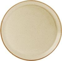Wheat Porcelite Seasons Pizza Plate