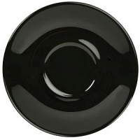 135mm Black Porcelain Saucer