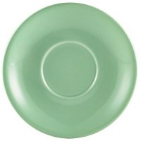 135mm Green Porcelain Saucer