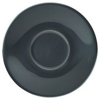 135mm Grey Porcelain Saucer