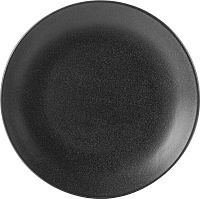 Graphite Porcelite Seasons Coupe Plate