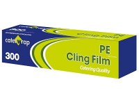 PVC Clingfilm Cutterbox Roll 300mm x 300M