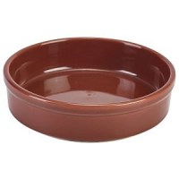 100mm Terracotta Round Dish
