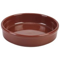 145mm Terracotta Round Dish