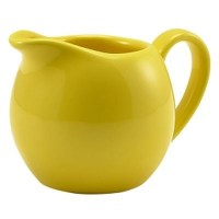Porcelain YELLOW Milk / Cream Jug