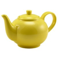 Porcelain YELLOW 4-5 Cup Teapot