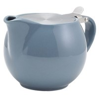 Grey Porcelain Teapot