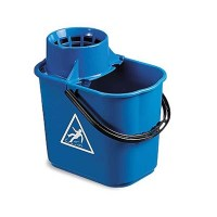 BLUE Mop Bucket with Wringer 12 Litre