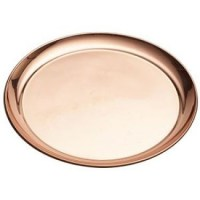 Copper Round Tray
