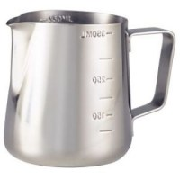 35cl Stainless Steel Graduated Milk Jug