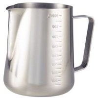 90cl Stainless Steel Graduated Milk Jug