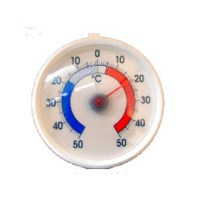 Round Fridge - Freezer Thermometer