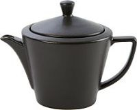 Graphite Porcelite Seasons Conic Teapot