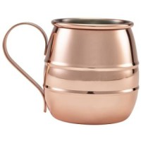 50cl Copper Barrel Mug